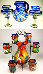Mexican Glass Sets