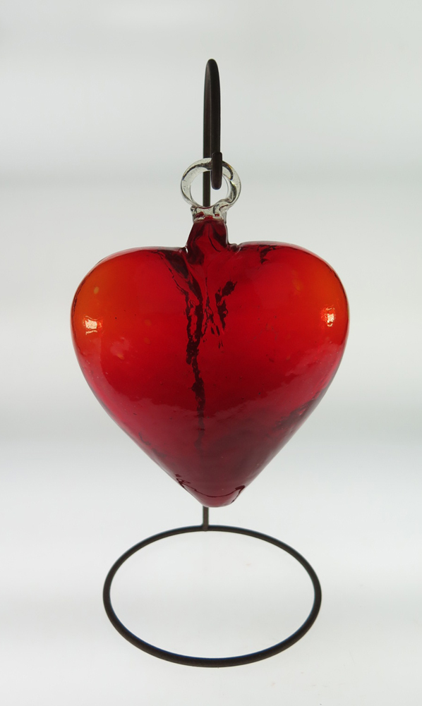 Red Heart Xl 8 Quot W Stand Mexican Glass