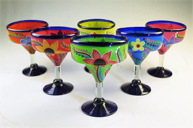Authentic Mexican Margarita Glasses