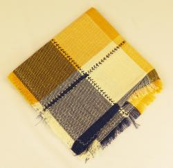 Hand woven cotton napkins two from Mexico