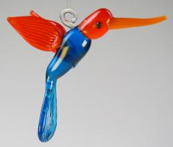 "Hummingbird Large 3"" Glass"