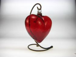 HEART  XXL 10 inches across  with Stand