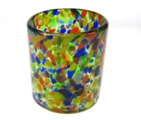 Mexican Confetti High Ball Glass - 10 oz