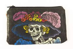 Catrina coin purse made in Mexico