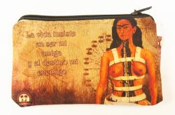 Frida in brace coin purse