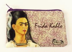 Frida black veil coin purse