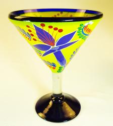 Mexican Glass, Margarita Martini POP Yellow 15oz