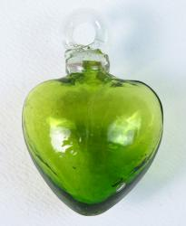 Green Heart - Small 2 inches