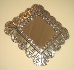 Mirror tin art frame