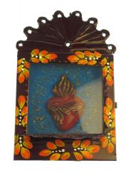 Niche Arch with Flaming Heart 5.5x3.5