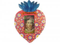 Niche heart with Frida Kahlo large 11x9