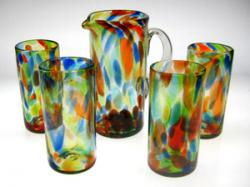 Mexican glasses pitcher 20oz
