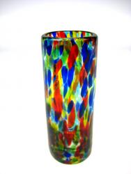 Bright Confetti shot glass