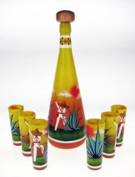 Yellow Agave Digger Tequila Set