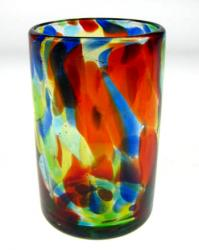 Drinking Glass, Confetti Swirl, 16oz