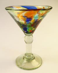Classic Martini 6oz Confetti Swirl made in Mexico