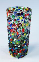 Mexican Shot Glass Big Pebble Confetti