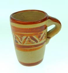 Mexican Clay Ceramic Tequila Mescal shot glass