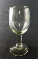 Wine glass hand blown 7oz Clear made in Mexico